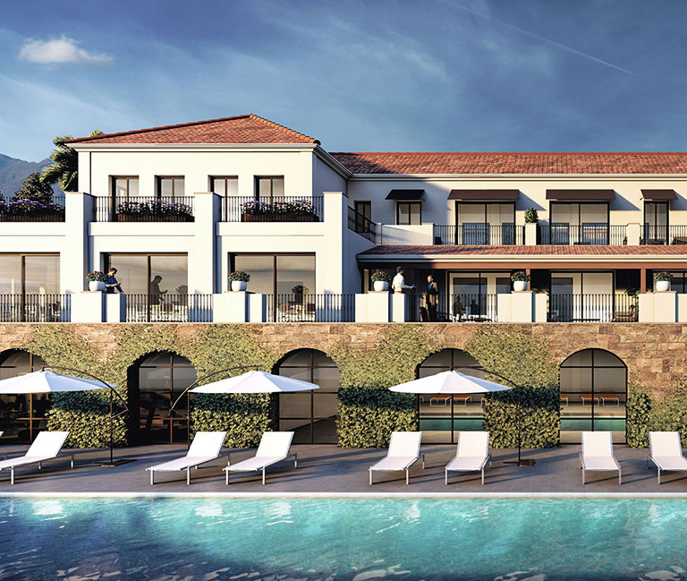 Upscale retirement community in Marbella